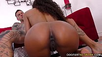 Ebony Demi Sutra Tries Her Spanish Teacher's Big Dick
