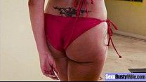 (Nina Elle) Busty Milf Like Hard Style Sex On Camera video-19 image