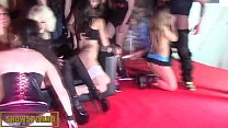 pornstars orgy farewell in erotic festival
