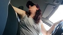 Great masturbation in the car with a mega super wet orgasm for you