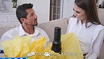 TINY4k Step daughter Riley Reid uses fathers day gift on step dad - 69VClub.Com