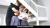 DaughterSwap - Naughty School Girls (Ally berry...