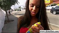 Alone Girl (rahyndee) Start Using Things As Sex Toys clip-28