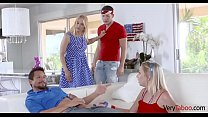 FAMILY GETS NAUGHTY ON 4th of JULY