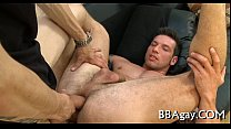 Lewd homosexual sex with sexy dudes
