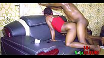 Obsessed Naija Olosho invited black cock man to cum and keep her company during curfew and she gave him everything Ep2/8