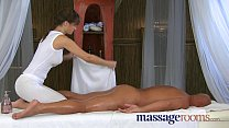 Massage rooms busty masseuse rita tender loving care, mandy muse oiled thumbnail
