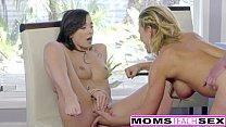 Hot Step-Mom Cherie Deville Seduces Daughters BF صورة