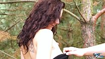 6363 MyFirstPublic  Unexpected fuck in public for young curly hair brunette preview