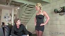 Hot MILF Agent Seduce Stranger to Fuck her