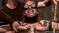 Masters extreme tormenting redhead sub