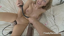 Horny Chick amateur likes take huge dick in wth lips till cum after cunt stuffed