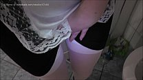 HD french maid pee revenge