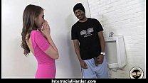 Girl gets punished by a huge black cock 11