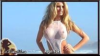 Busty Blonde Bikini Babe Nude Beach