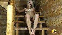 Katerina Hartlova foot job and ride on dildo