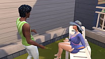 Sims 4 - Common days in the sims | My friend's mom part 1/2