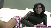 girl upskirt - Ebony teen face jizzed thumbnail