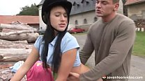 Angelica fucks her riding instructor