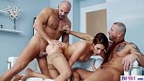 Domina Boss Fucks Bisexual Employees - Ani Blac...