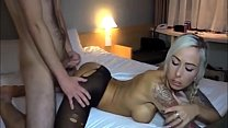Amazing German Blonde with Big Tits Gets Fucked by Mask