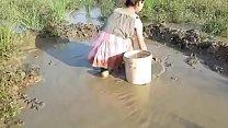 nepali sextape • Beauty Girl  Catching Fish By Hand thumbnail