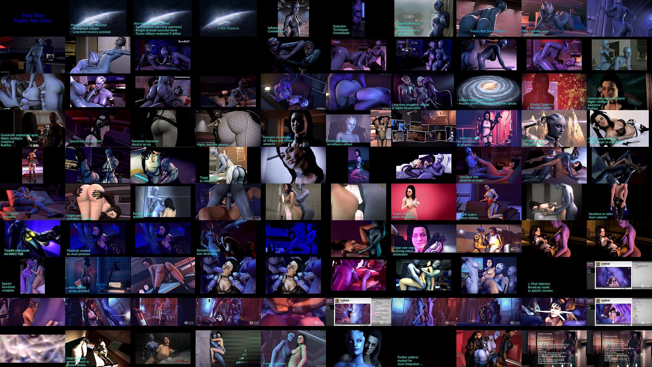Mass Effect Miranda Creampie