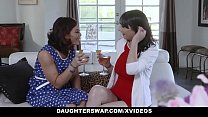 DaughterSwap - Two Hot Daugthers Get Fucked By Their Slutty Moms preview image