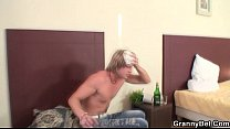 Cleaning woman rides his horny dick Preview