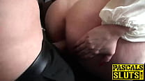 Big Ass Milf With Huge Tits Gets Penetrated Roughly On Floor • sandra boobies thumbnail