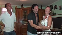 Daniela di Ladispoli e la Cicciona! Orgia e DP! CentoXCento video