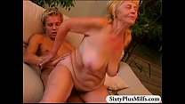 Granny Annie enjoys a fine fresh dick