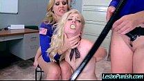 (alison&charlotte&julia) Mean Lesbian Punish With Dildos A Cute Horny Lez Girl mov-09