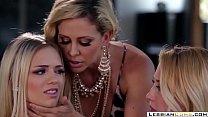 Pervy Stepmom Seduces Lesbian Young Daughter | LesbianCums.com