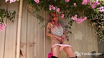 Yanks Beauty Zahra Stardust Blossoms In The Garden