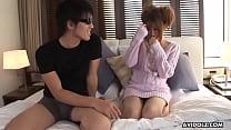 Fresh teen, Sae Sakamoto cheated on her boyfriend all day