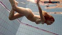 Bouncing boobs underwater