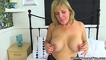English milf Danielle is ready for naughtiness