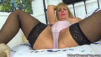 English milf Danielle is ready for naughtiness preview image