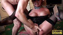 British sub dominated while squirting preview image