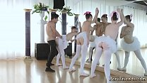 Neighborhood orgy xxx Ballerinas's Thumb