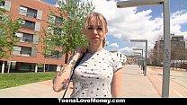 TeensLoveMoney - Teen (Arteya) Will Fuck For Money