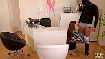 Lucy Li - Hardcore Office Fuck And Cum On Tits thumbnail