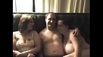 Real threesome Girls don't stop after man cums ...'s Thumb