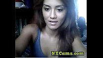 Cute teen tease on webcam