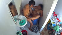 Sex in the shower - hidden camera