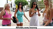 Hardcore pussy fuck for money 4