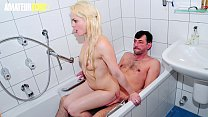 AMATEUR EURO - German Blondie Oxana Blows And R...