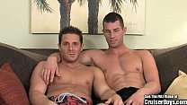 Rusty and Steve are tall, muscular, well equipped, beach boy HOTTIES