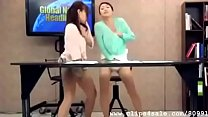 Frantic Wet Horny Japanese Lesbian Slutty Newsreaders